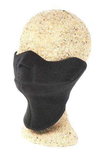 Kanfor &apos Profimaske Snowboard Face Maske LAVO Polartec Windbloc Gr. L/XL schwarz