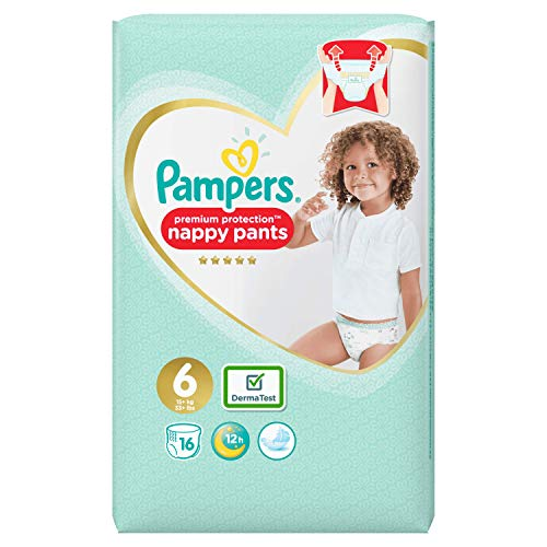 Pampers Premium Protection Pants, Größe 6, 16 Windeln