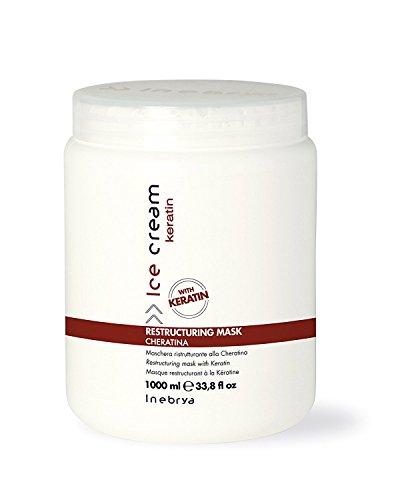 Inebrya Ice Cream Restructuring Mask Cheratin - 1000 ml