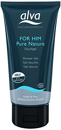 Alva for Him Pure Nature Duschgel, 1er Pack (1 x 0.175 l)