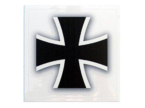 Café Viereck ® Bundeswehr Eisernes Kreuz Aufkleber – 5 cm x 5 cm