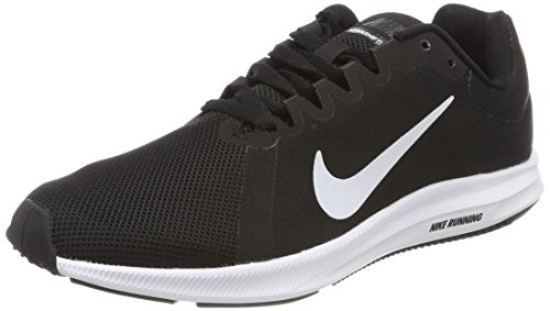 Nike Damen Downshifter 8 Laufschuhe, Schwarz (Black/White-Anthracite 001), 39 EU