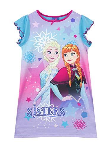 Disney Mädchen Frozen - Die Eiskönigin Nachthemden Mehrfarbig 104