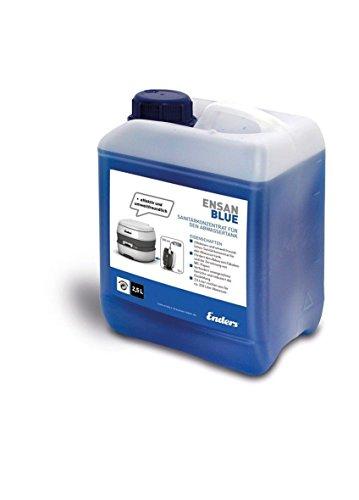 Enders Sanitärflüssigkeit für Campingtoilette, Blue 2,5 Liter: Abwasser-Zusatz für den Camping Abwasser-Tank