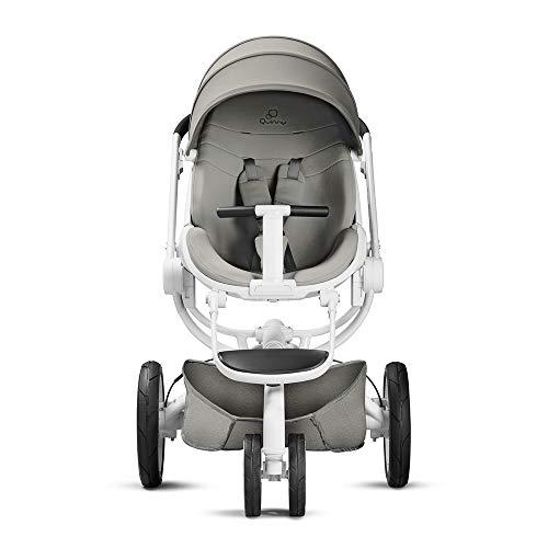 Quinny Moodd Kinderwagen, mit automatischer Aufklappfunktion, Ruheposition in beide Fahrtrichtungen, modernes Design, ab der Geburt bis ca. 3,5 Jahre, grey gravel