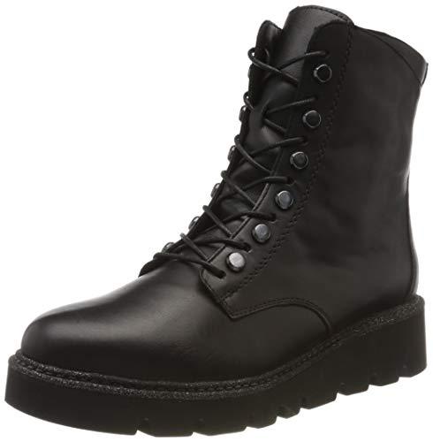 Remonte Damen R8076 Combat Boots, Schwarz (Schwarz/Schwarz 01), 38 EU
