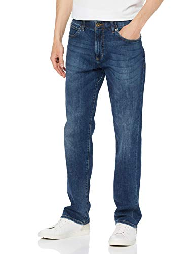 Lee Herren Extreme Motion' Straight Jeans, Bleu (Maddox Pu), 32W / 34L