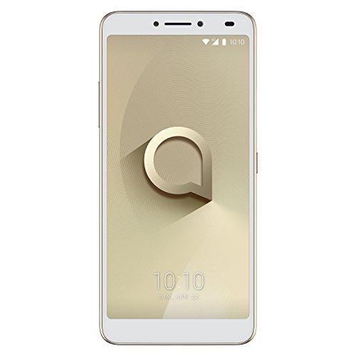 Alcatel 5099D-2BALWE2 15,24 cm (6 Zoll) 3v, Smartphone, 16GB Spectrum Gold