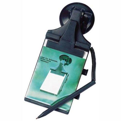 Notizblock mit Saugknopf, 85x115 mm, inkl. Kugelschreiber
