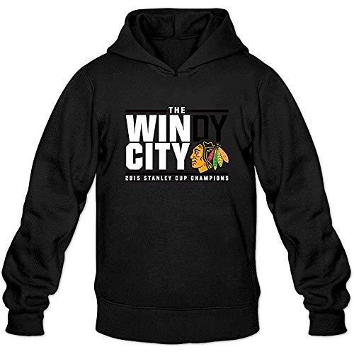 Men's Chicago Blackhawks 2015 Stanley Cup Champions Hoodies Sweatshirts