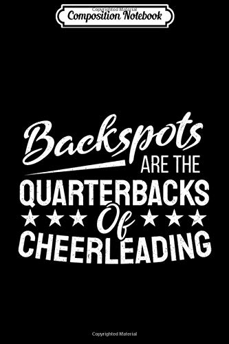 Composition Notebook: Backspot Cheerleading Cheerleader Quarterback Premium Journal/Notebook Blank Lined Ruled 6x9 100 Pages