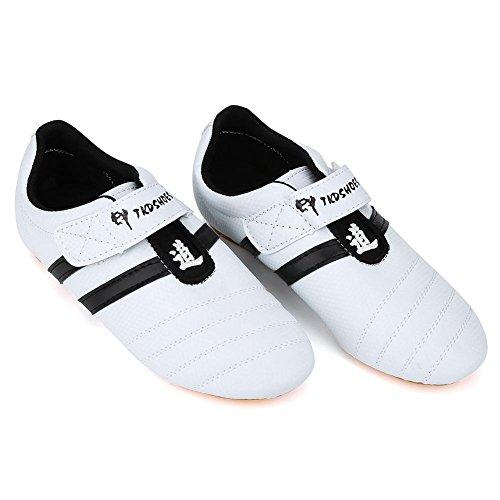 Zyyini Taekwondo Boxschuhe, Leichte atmungsaktive Karate Kongfu Schuhe Tai Chi Traning Schuhe für Männer Frauen(33)