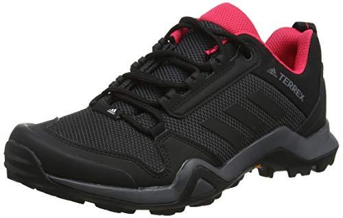 adidas Damen Terrex AX3 W Trekking- & Wanderhalbschuhe, Grau (Carbon/Core Black/Active Pink 0), 40 EU