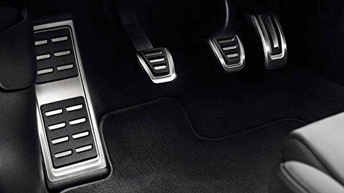 Audi A3 8V Original S3 Pedalset Pedale Pedalkappen mit Fußstütze