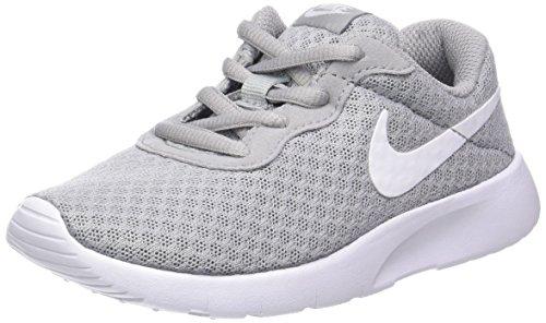 Nike Jungen Tanjun (PS) Laufschuhe, Grau (Wolf Grey/White/White 012), 34 EU