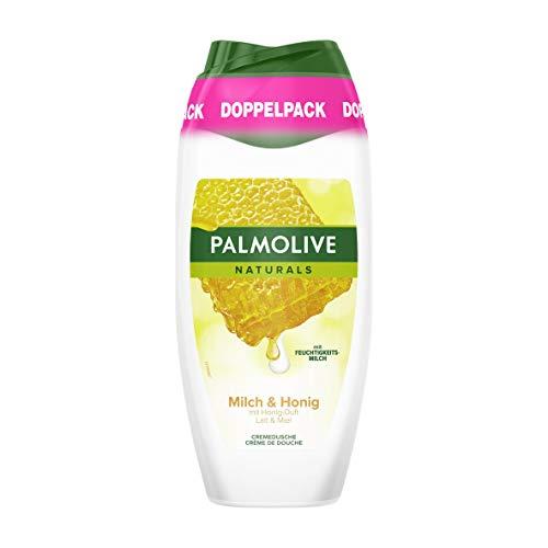 Palmolive Naturals Milch und Honig Duschgel Doppelpack, 2 x 250ml