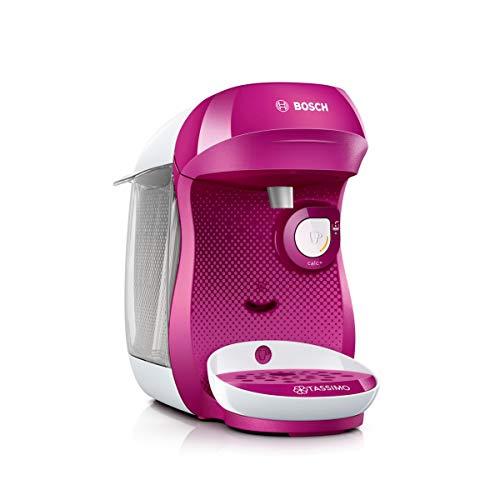 Bosch TAS1001 Tassimo Happy Kapselmaschine (über 70 Getränke, vollautomatisch, geeignet für alle Tassen, einfache Zubereitung, 1.400 Watt) lila