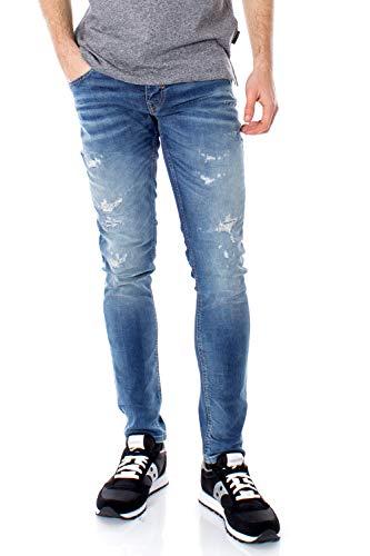 Antony Morato Herren Ozzy (Inch) Tapered Fit Jeans, Blau (Denimblau 7010), 30W / 32L