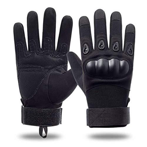 Winterhandschuhe Herren Taktische Handschuhe Outdoor Vollfingerschutz Sporttraining Armee Fans Special Forces Reithandschuhe Herren L Schwarz Kostenlose