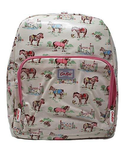 Cath Kidston Rucksack Pony, Wachstuch, groß, cremefarben