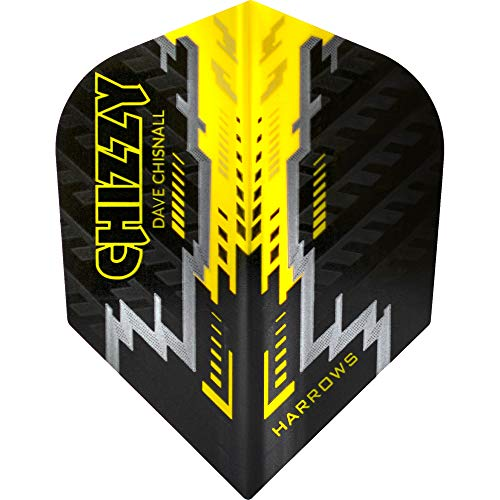 Harrows Dave Chisnall Dart Flights - Chizzy - Standard, Chizzy 2, 10 Sets