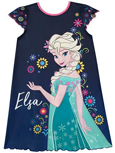 Disney Mädchen Frozen Die Eiskönigin Nachthemden Mehrfarbig 104