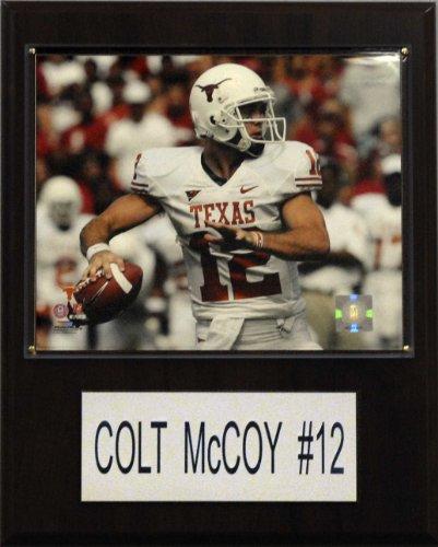 C & I Sammlerst-cke 1215MCCOYC NCAA Football Colt McCoy Texas Longhorns Spieler Plaque