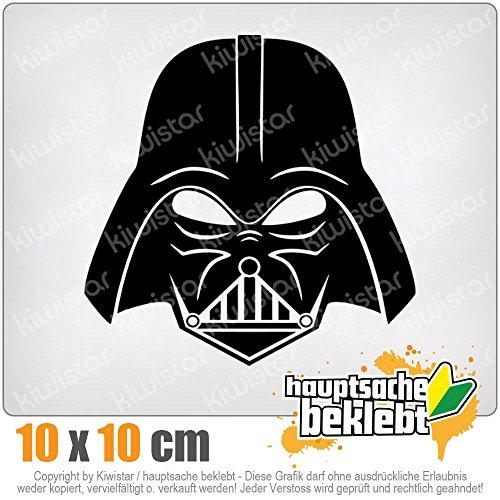 KIWISTAR Sith Imperium Maske 10 x 10 cm IN 15 FARBEN - Neon + Chrom! Sticker Aufkleber