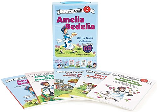 Amelia Bedelia I Can Read Box Set #1: Amelia Bedelia Hit the Books (I Can Read Level 2)