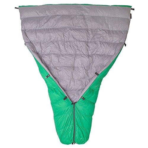 Paria Outdoor Products Thermodown 15 Degree Survival-Daunensteppdecke/Deckenschlafsack - Ultraleichte 3-Jahreszeiten-Steppdecke - Perfekt für Camping, Rücksacktourismus und Hängemattenzelte (Lang)