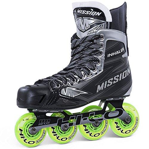 Mission Inhaler NLS4 Roller Hockey Skates Junior, Weite :E = Regular;Größe:05.0 (38.5)