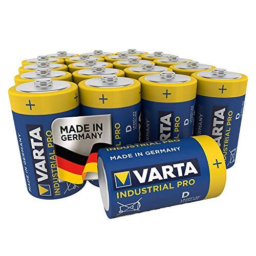 VARTA Industrial Pro Batterie D Mono Alkaline Batterien LR20 (20er pack)