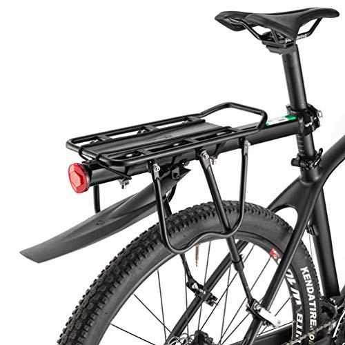 ROCKBROS Fahrradgepäckträger Mountainbike Gepäckträger Schnellspanner mit Schutzbleche und Reflektor Max. Zuladung 75kg 24-29 Zoll