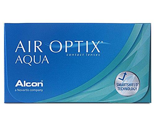 Air Optix Aqua Monatslinsen weich, 6 Stück / BC 8.6 mm / DIA 14.2 / -6,75 Dioptrien