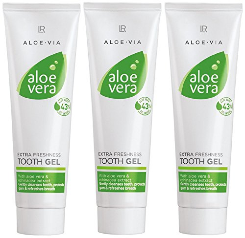 LR ALOE VIA Aloe Vera Extra Frische Zahngel (3x 100 ml)