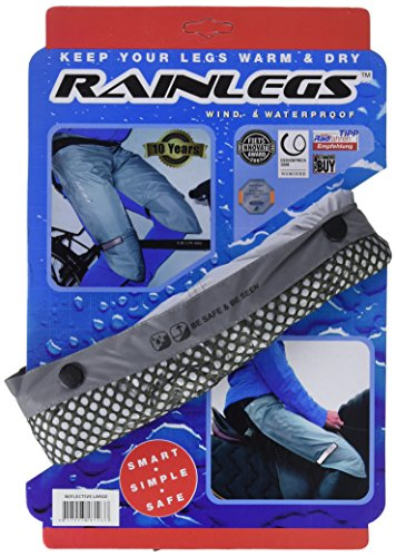 Rainlegs Herren Reflective Regenschutz, grau, S