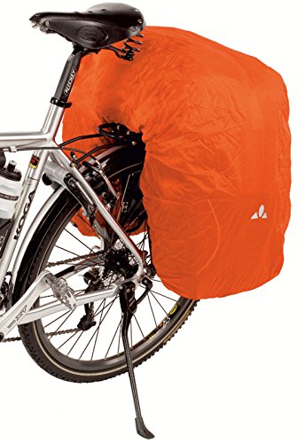VAUDE 3 Fold Raincover Radtaschen, orange, One Size