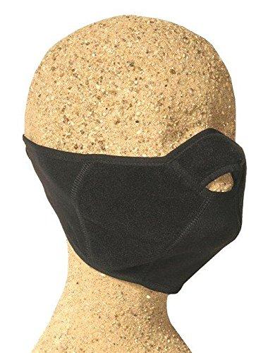 Kanfor &apos Profimaske Snowboard Face Maske Mort Teilen, Polartec Windbloc Gr. L/XL schwarz