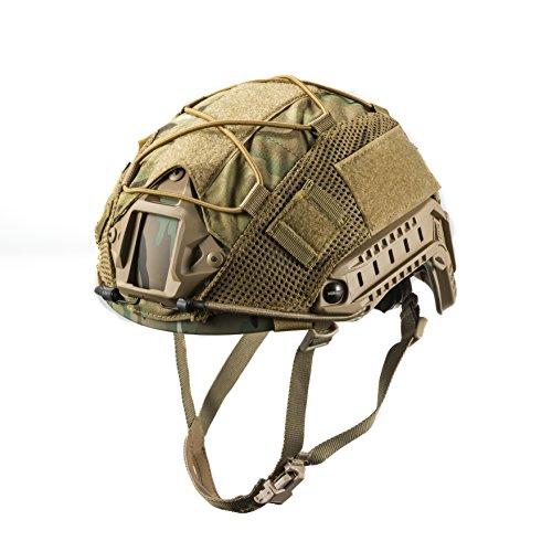OneTigris Taktische Helmüberzug Helm Abdeckung für M/L/XL Ops-Core Fast PJ Helm |MEHRWEG Verpackung