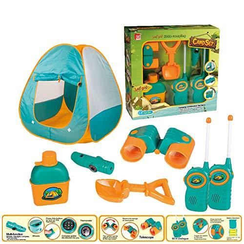 ZLJ Kleines Zelt mit Campingausrüstung Spielzeug-Werkzeug-Set for Kinder (Size : C)