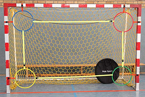 Boje Sport Variable Handball Torwand-to-Go Senior für Damen/Frauen + Herren mit 4 Ringen Ø 50 cm