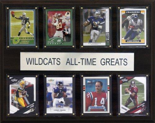 C & I Sammlerst-cke 1215ATGKSTWC NCAA Football Kansas State Wildcats All-Time Greats Plaque