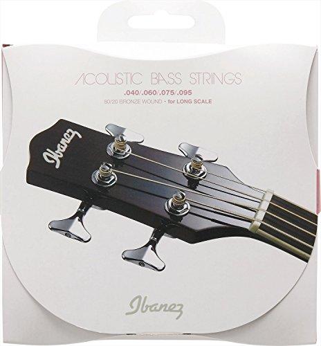 Ibanez IABS4C Akustik Bass Saite Satz (80/20 Bronze, 040-095, Long Scale)