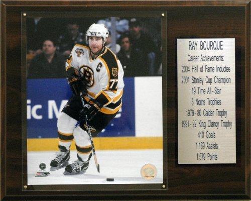 C & I Sammlerst-cke 1215BOURQUEST NHL Ray Bourque Boston Bruins Karriere Stat Plaque