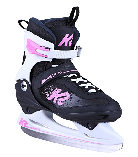 K2 Damen Schlittschuh Kinetic Ice W - Schwarz-Pink - EU: 38 (US: 7.5 - UK: 5) - 25C0160.1.1.075