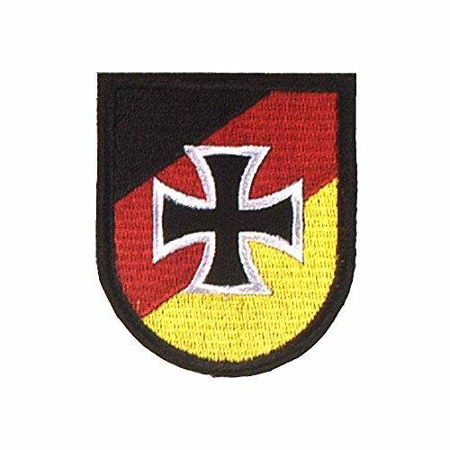 baum-m gmbh Abzeichen Reservisten der Bundeswehr Bestickter Aufnäher 70 x 60 mm Patch Eisernes Kreuz