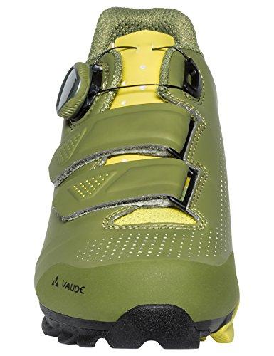 VAUDE Unisex-Erwachsene MTB Snar Advanced Mountainbike Schuhe, Grün (Holly Green 791), 42 EU
