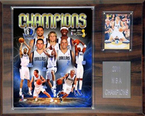 C & I Sammlerst-cke 1215NBA11DM NBA Dallas Mavericks 2010-2011 Champions Plaque