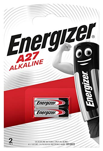 Energizer A27 Alkali Batterien, 12V, 2 Stück