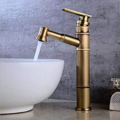WANDOM Schwarz/Altmessing nur ein Griff Sprayer Wasserhahn heißen und kalten Mixer ziehen Sie den Küchenarmatur-4
